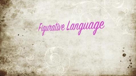 Thumbnail for entry Jason & Laurens Figurative Language