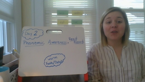 Thumbnail for entry Week 4 Day 2 Phonemic Awareness and Read Aloud