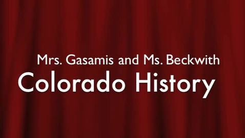 Thumbnail for entry 2013 Roberts Beckwith Colo History