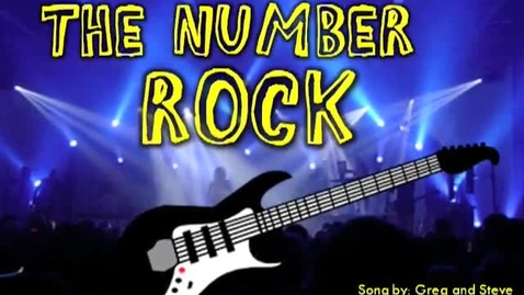 Thumbnail for entry The Number Rock (song)