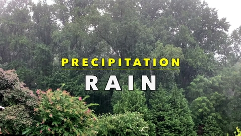 Thumbnail for entry RAIN with Mr. Sean, Fernbank Science Center Meteorologist