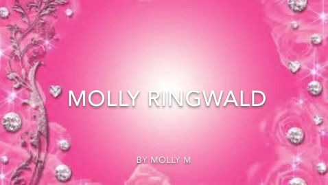 Thumbnail for entry Molly Ringwald by Molly M