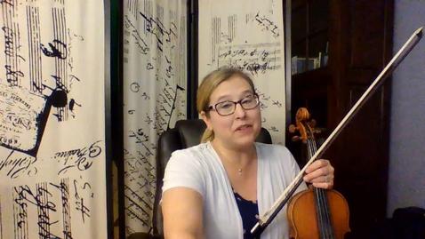 Thumbnail for entry 5th GR Violin Viola Video 2 Pg 29 Week 8 Ties and Slurs
