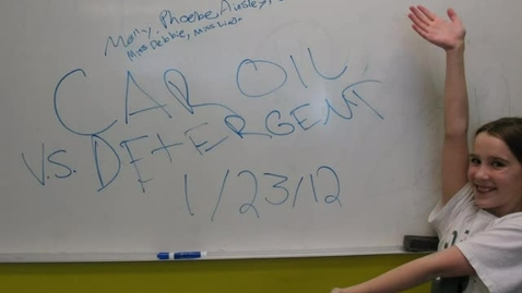 Thumbnail for entry Oil vs. Detergent
