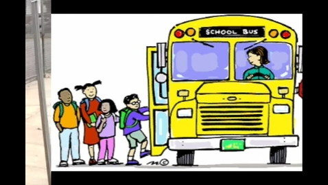 Thumbnail for entry Bus Safety PSA