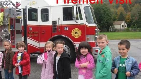 Thumbnail for entry K Firemen Visit
