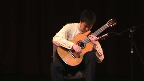 Thumbnail for entry Jason Wang Playing on Senior Recital 2012