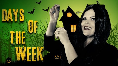 Thumbnail for entry Days Of The Week  Addams Family (Parody) | Fun songs for Big Kids, Preschoolers and Toddlers