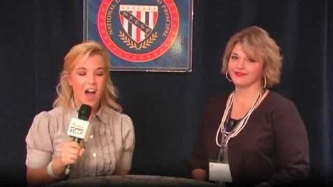 Thumbnail for entry NDP Winner Michelle Owens Hayward of Arkansas