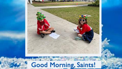 Thumbnail for entry Saints @ 8 - January 8, 2021