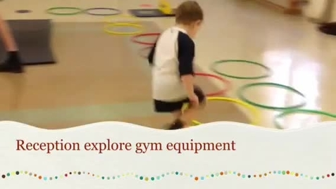 Thumbnail for entry Reception explore gymnastics
