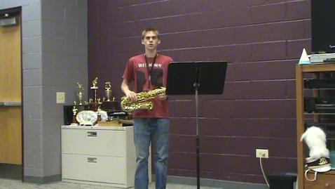 Thumbnail for entry Scott Menefee (Alto Sax) SOLO Audition (MENC - AAMB 2009)