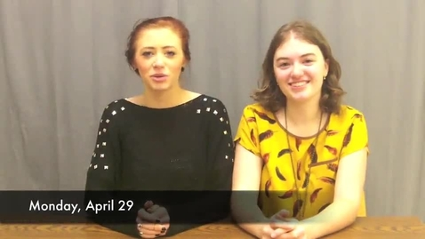 Thumbnail for entry BHS Newscaster, Season 4, Episode 11: April 29, 2013