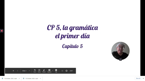 Thumbnail for entry CP 5 GRAM, PRIMER DIA