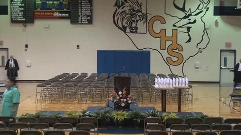 Thumbnail for entry Comfort High School Graduation 2017