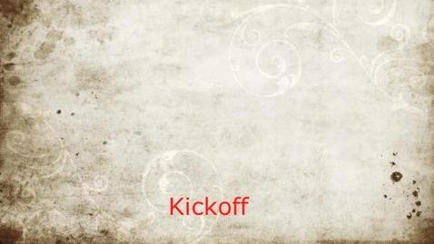 Thumbnail for entry Kickoff B