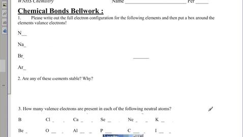 Thumbnail for entry Ionic Bonding (binary)