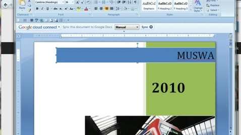 Thumbnail for entry Creating PDFs in Acrobat 8
