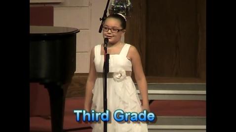 Thumbnail for entry Lena Third Grade