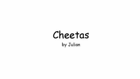 Thumbnail for entry Cheetahs by Julian