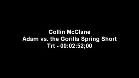 Thumbnail for entry Adam vs The Gorilla