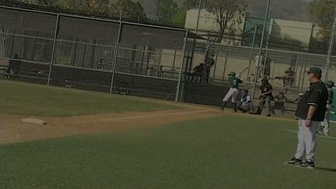 Thumbnail for entry GHCHS Boys Baseball vs Polytechnic HS 3-12-12