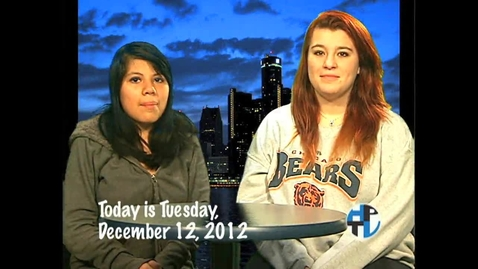 Thumbnail for entry Wednesday, December 12, 2012