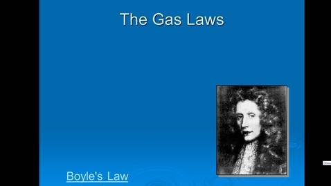 Thumbnail for entry Unit 5 Boyle's Law