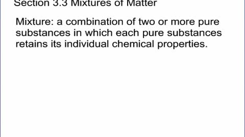 Thumbnail for entry Chemistry Section 3.3