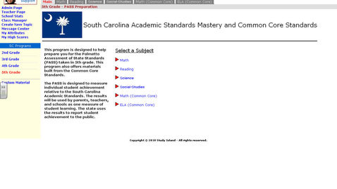 Thumbnail for entry Study Island-Adding class & assignment
