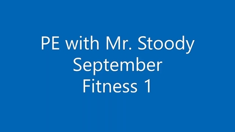 Thumbnail for entry September Fitness 1