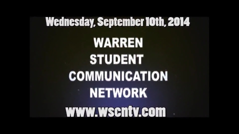 Thumbnail for entry WSCN 09.10.14