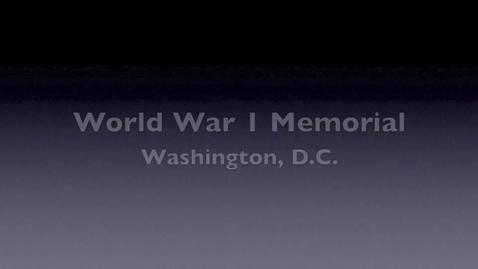 Thumbnail for entry World War 1 Memorial