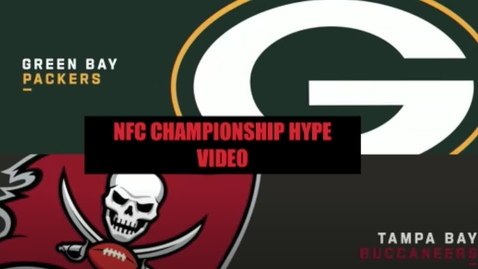 Thumbnail for entry NFC CHAMPIONSHIP HYPE VIDEO