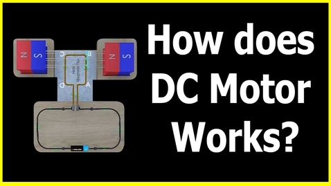 Thumbnail for entry How does DC Motor Works - Working Principle of DC Motor - Letstute