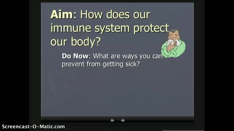 Thumbnail for entry Unit 5 page 1 Immune System Notes