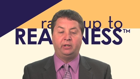 Thumbnail for entry The Ramp Up to Readiness Curriculum