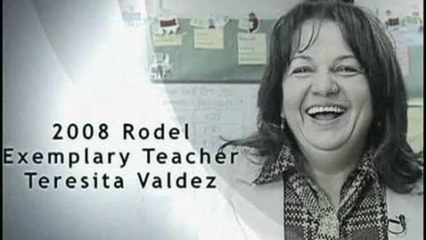 Thumbnail for entry Rodel 2008 Exemplary Teacher Teresita Valdez