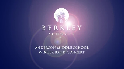Thumbnail for entry 2013 AMS Winter Band Concert