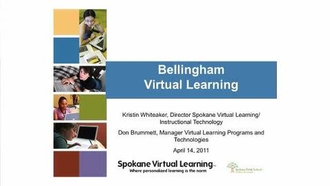 Thumbnail for entry Online Learning Presentation