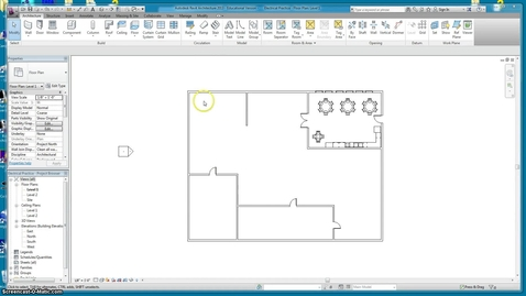 Thumbnail for entry REVIT Dimensions and Sheets