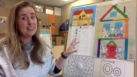 """Thumbnail for entry Thursday Activity Time - House Scavenger Hunt, """"O"""" Hunt & Adding People to your House"""