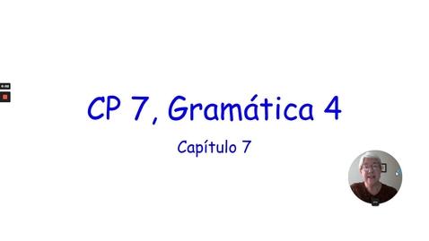 Thumbnail for entry CP 7 GRAMMAR 4