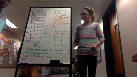Thumbnail for entry Graphing Linear Equations - Student Tutorial