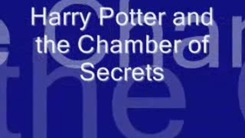 Thumbnail for entry Claymation Book Review on Harry Potter