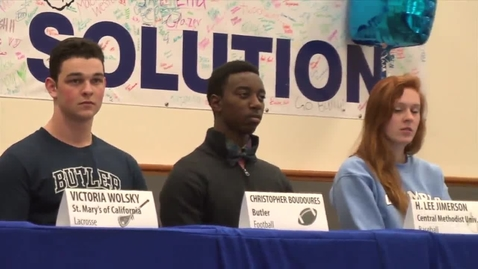 Thumbnail for entry Ladue Signing Day 2014