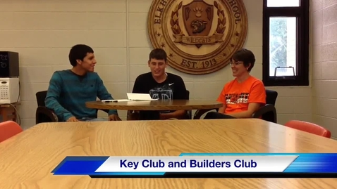 Thumbnail for entry Key Club and Builder's Club interview with Mrs. Carter