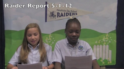Thumbnail for entry Raider Report 5-1-12