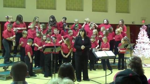 Thumbnail for entry Woodland Honor Choir Christmas Concert Part 4