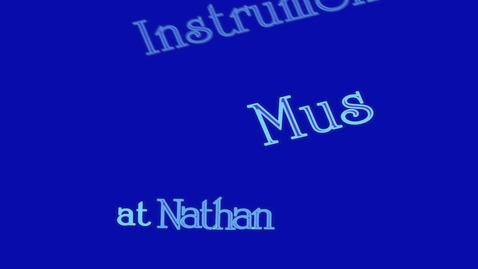 Thumbnail for entry Instrumental Music at Nathan Hale